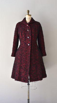 Far and Away coat / vintage 1940s princess coat / by DearGolden