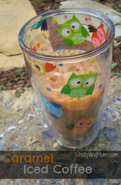 Caramel Iced Coffee is my all time favorite iced coffee to enjoy! I also like making mine own at home because it is a lot cheaper than buying it. Love this recipe! #Tervis #TervisTumbler