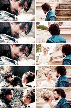 Aramis and Anne | The first and last time we see them | BBC Musketeers | Season 1 v.s. Season 3