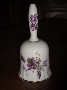 Beautiful Victorian Violets by Hammersley Bell England Bone China