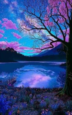 Cute Galaxy Wallpaper, Night Sky Wallpaper, Wallpaper Space, Sunset Wallpaper, Landscape Wallpaper, Scenery Wallpaper, Cute Wallpaper Backgrounds, Pretty Wallpapers, Colorful Wallpaper