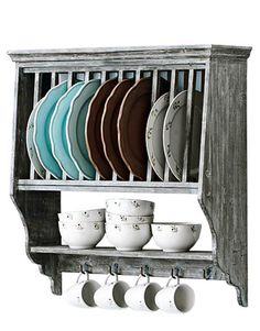 country kitchen plate rack kitchen wall self for plates kitchen amp dining gt racks 6122