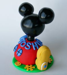 Mickey Mouse Clubhouse Birthday Cake Topper by SpiritMama, via Flickr