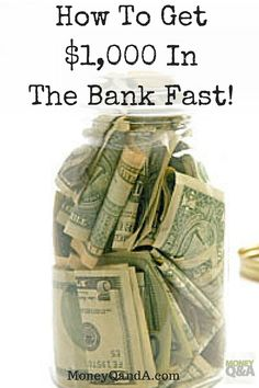 Dave Ramsey's Baby Step One - $1,000 Emergency Fund In The Bank