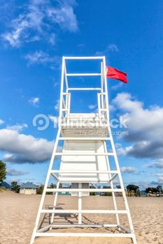 Photo : Water lifeguard stand