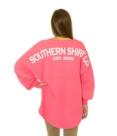 Southern Shirt Company Boardwalk Vneck Jersey in Blush Preppy Brands, Southern Shirt Company, Rain Jacket, Windbreaker, Blush, Graphic Sweatshirt, V Neck, Pullover, My Style