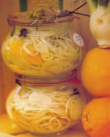 PICKLED FENNEL with star anise&orange peel  For pickle lovers      Delecious & different