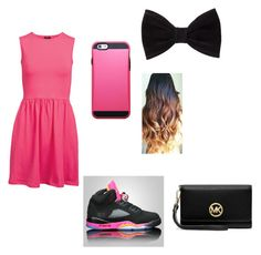 """""""pretty in pink"""" by inkalinslane ❤ liked on Polyvore"""