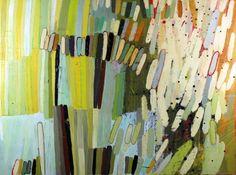 Barbara Gilhooly Abundant Attraction II 2012 acrylic, ink, carving on birch 30 x 40''