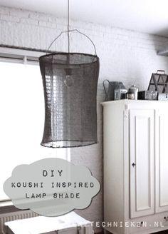 verftechnieken.nl - DIY Koushi style lamp