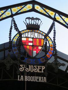 La Boqueria, Barcelona Spain Boqueria market, the most famous food market in Europe.