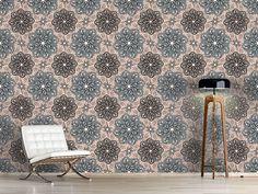 Design #Tapete Blumen Aus Fantasia