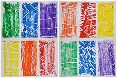 Art With Mr Hall: Finger Paint Printmaking