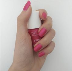 If you're looking for something more than just an everyday pink... the answer is Velvet Satin Nail Lacquer 691 Pink Flambé! @nina13.3 http://www.kikocosmetics.com/it-it/kikotrendsetters/gallery.html#opi2259792046