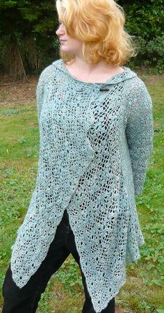 Loose-Knit Sweater | DIY & Ideas Crochet | Pinterest | Loose knit ...