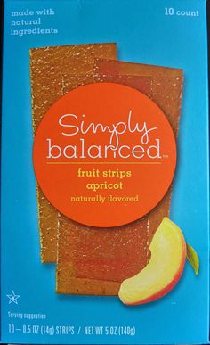 What's Good at Archer Farms?: Simply Balanced Apricot Fruit Strips