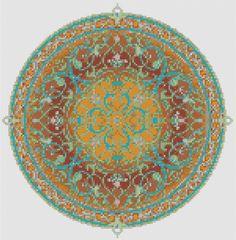 Arabian Nights Pdf cross stitch chart / pattern. $6.50, via Etsy.