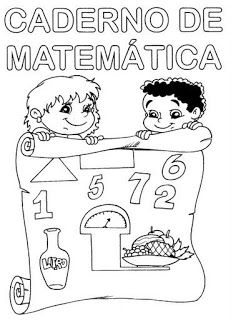 Capas De Caderno Prontas Para Imprimir Capas De Matematica