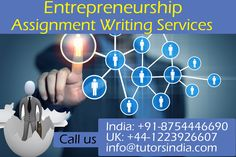 Writing an entrepreneurship dissertation with the theme of innovative business prospect is quite challenging. But ,   there is a way to develop the content. ...http://dissertation-writinghelp.blogspot.in/2015/01/entrepreneurship-assignment-writing.html