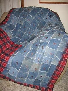 I want to sew a Denim Quilt one of these days.