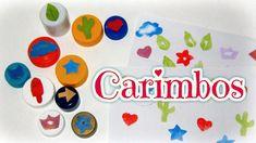 Como fazer #Carimbos personalizados - #DIY #Stamps