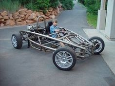 Home-built Ariel Atom replica Photo Gallery Ariel Atom, Cycle Kart, Kart Cross, Tube Chassis, Diy Go Kart, Drift Trike, Suspension Design, Buggy, Pedal Cars