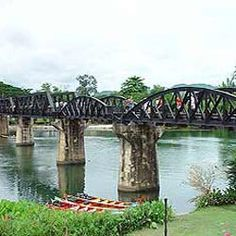 Full Day Bridge Over The River Kwai From Hotel Inside Hua Hin Only         Travel by bus to Kanchanaburi to see the world famous bridge leading over the River Kwai, built during World War II by the prisoners of war. You can visit the well kept cemeteries containing the graves of an estimated 9,000 allied soldiers who lost their lives whilst building the bridge and const…