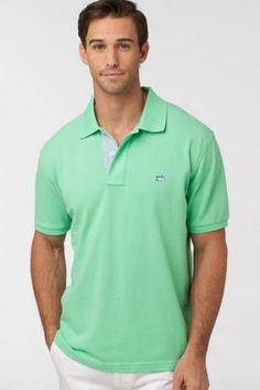 Skipjack Stripe Polo with Herringbone Placket  One of the most comfortable classic polo shirts ever made. Try on Southern Tide Skipjack Polo, and you will agree that the unique fit and custom fabric have redefined the polo shirt.