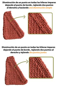 Disminuyendo puntos - Tejiendo Perú Sweater Knitting Patterns, Crochet Toys Patterns, Knitting Stitches, Doll Patterns, Crochet Monsters, Crochet Dragon, Doll Tutorial, Tricks, Knit Crochet