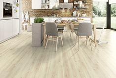 Vue de la chambre Cheap Wood Flooring, Wood Tile Floors, Laminate Flooring, Egger Laminat, Wooden Floors Living Room, Natural Wood Table, Design Light, Flooring Shops, Brown Color Schemes