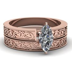 rose-gold-marquise-white-diamond-engagement-wedding-ring-in-prong-set-FDENS3627MQ-NL-RG