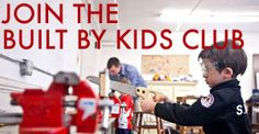 OUR GOAL   …is to empower families through building and bonding and encourage the next generation of makers.  OUR COMMUNITY   …is a collection of motivated kids, parents, family and friends with impeccable taste and a serious knack for DIY