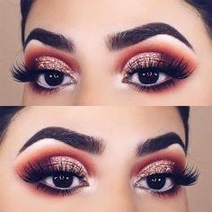 60 Ways of Applying Eyeshadow for Brown Eyes ★ Newest Makeup Ideas For Brown Eyes picture 6 ★ See more: http://glaminati.com/eyeshadow-for-brown-eyes/ #makeup #makeuplover #makeupjunkie