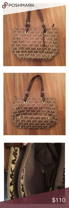 "| EUC | Michael Kors ""Jet Set Logo Tote""! 