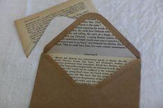 DIY Lined Envelopes / Wedding Style Inspiration / LANE