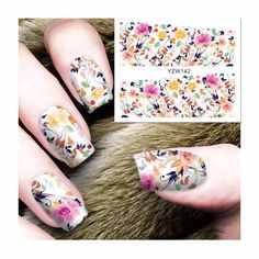 [Visit to Buy] FWC Butterfly Series Nail Sticker Water Decals Nail Art Water Transfer Stickers For Nails 142 #Advertisement