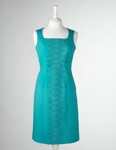 Broderie Trim Dress by Boden (my most recent work-fashion discovery)