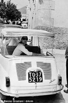 Jackie Kennedy in Italy, summer 1962