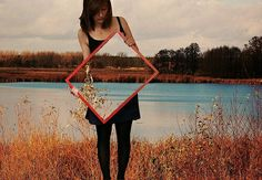 Great Mirror Effect #art #illusion #effect  https://www.facebook.com/OpticalIllusionphotos