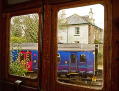 Trainspotting in the Old Luggage Van. Photo by Ross Haxton. #TrainCarriage #RailHoliday