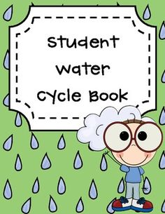 Water Cycle Book Graphic Organizer connects everything into a beautiful booklet! I would really enjoy using this all week and having my students fill out a little bit as we moved to each stage.