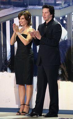 "Sandra Bullock Photos: Keanu Reeves And Sandra Bullock Promote ""The Lake House"""