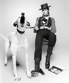 David Bowie [by Terry O'Neill]