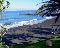Playa de la Arena in der Nähe von Los Gigantes