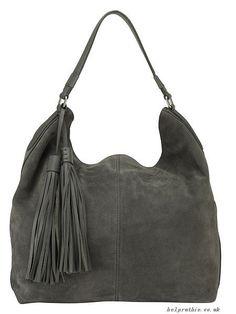 Brown Italian Suede Hobo | Banana Republic | relax buy it wear it ...