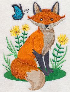 Woodland Wonders Fox design (L4695) from www.Emblibrary.com