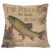 Trout Decorative Pillows