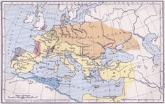 A map of the empire of Attila the Hun, at the time of his death in 32 Maps Which Will Change How You See Europe Roman History, European History, World History, Ancient History, Ancient Rome, Antonio Y Cleopatra, Attila The Hun, Old Maps, Hungary