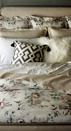 The rich texture of our Sutton Snakeskin Bedding Collection introduces an exotic edge to your master suite.