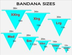 * * * sizing chart * * * please refer to this sizing chart to determine your pet bandana size. if you need a smaller size or a biggersize feel free to contact us with yourrequest. Puppy Bandana, Dog Clothes Patterns, Dog Crafts, Dog Pattern, Arrow Pattern, Animal Projects, Dog Sweaters, Pet Clothes, Dog Clothing